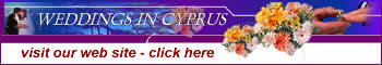 Weddings in Cyprus - Get married on the island of love - arrangements and honeymoons