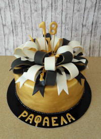 18th Birthday bespoke cake, delivered in Cyprus